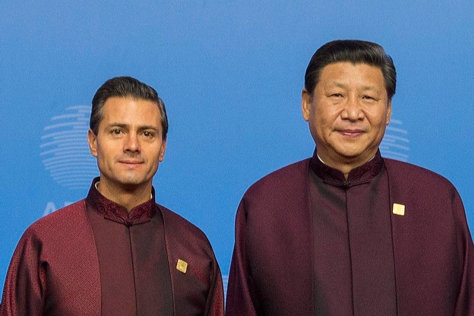 Presidents of Mexico and China.
